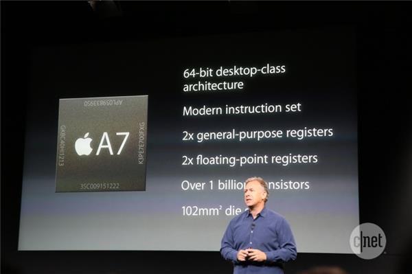 Apple A7 64-Bit Processor Announced