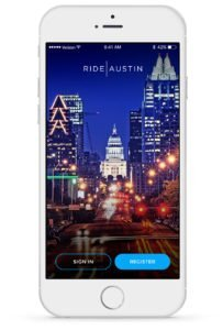Rideaustin App Phone Demo