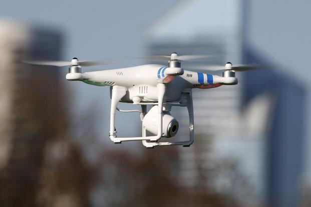 Drone Used for Apple Maps
