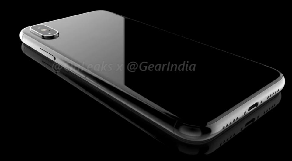 iPhone 8 back concept design