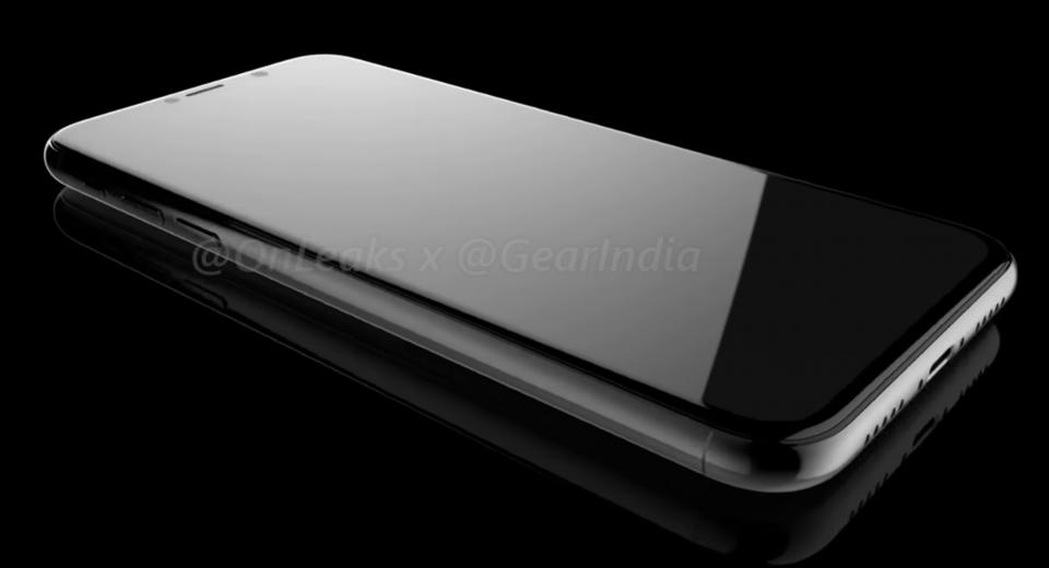 iPhone 8 screen concept design