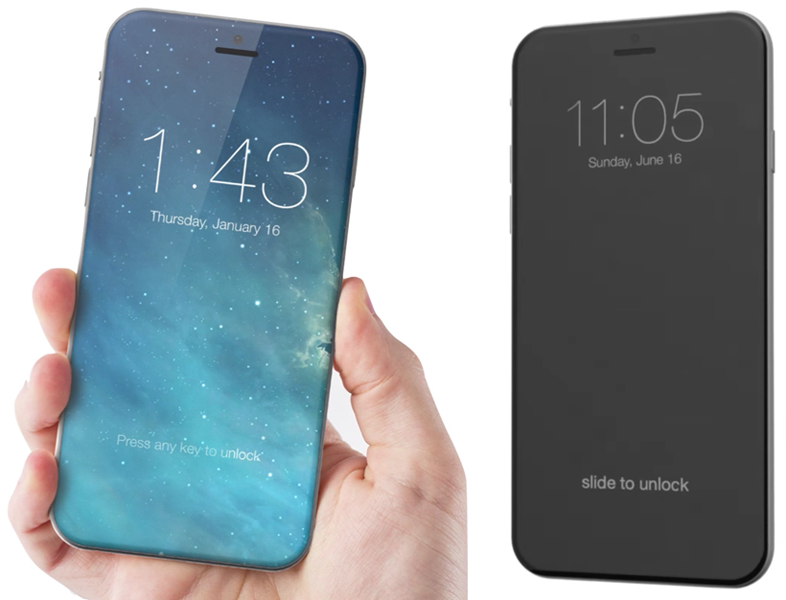 Conceptual design of iPhone 8