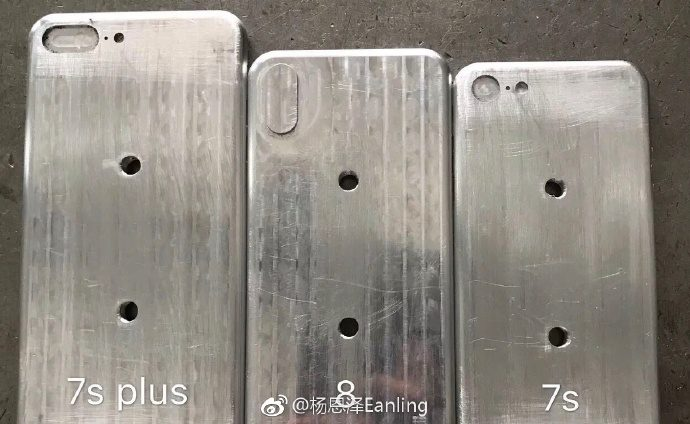 Leaked iPhone 8 Molds