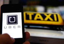 uber app taxi rideshare