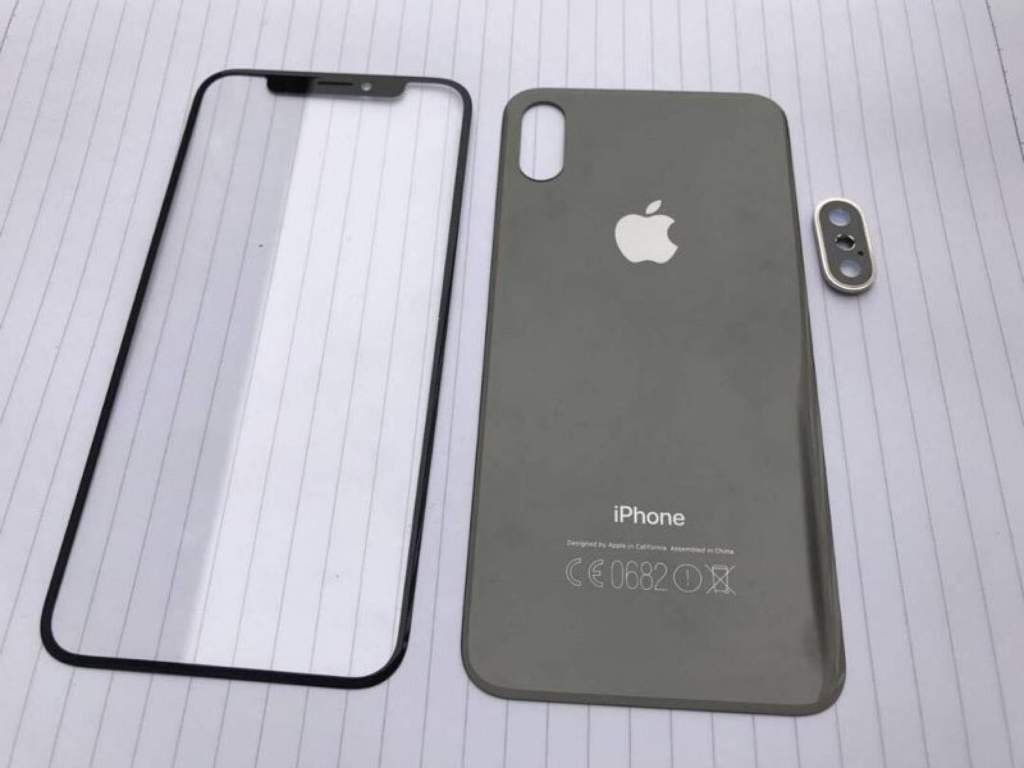 Rumored Front Panels of the Next iPhone 8