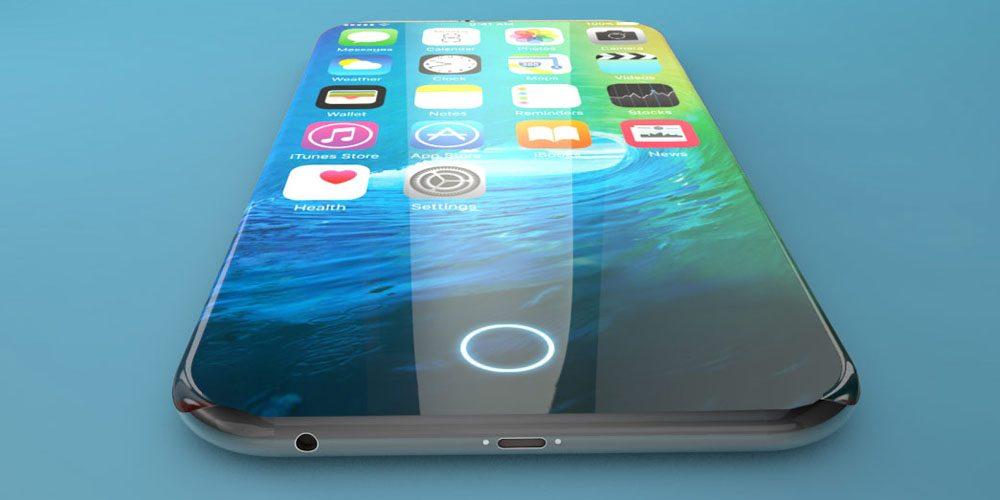 iPhone 8 Home Button No Bezel