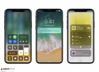 iPhone X Renderings