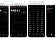 Bitcoin Ticker iOS App Screenshots