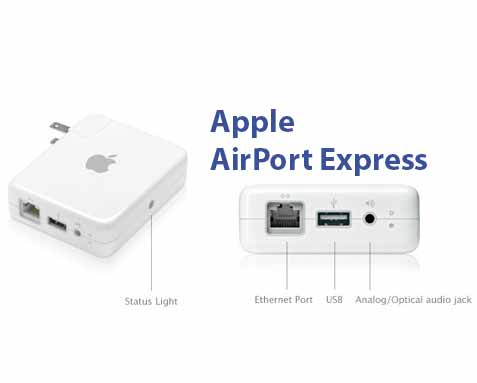 airport express ports airplay