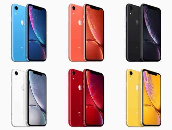 iPhone-XR-Color-Options-Launch