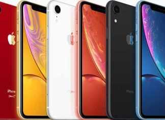 iPhone-XR launch colors