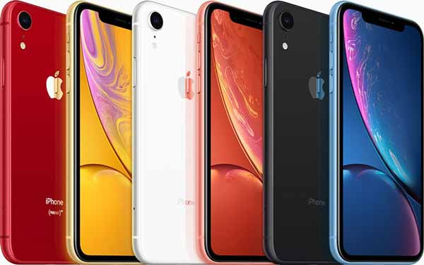 iPhone-XR launch colors