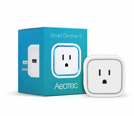 Aeotec Smart Dimmer 6 - product-package