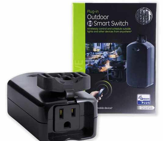 GE Z-Wave Outdoor Switch Product Image ATB