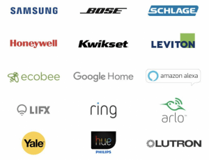 Works with SmartThings - Brand Logos