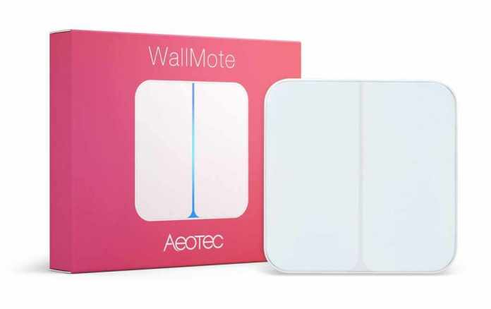 Aeotec WallMote product overview