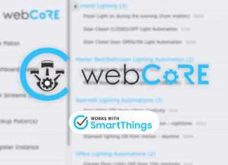 WebCore for SmartThings