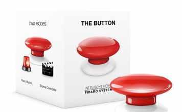 """Fibaro Z-Wave """"The Button"""""""