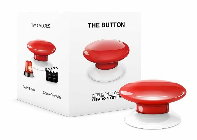 "Fibaro Z-Wave ""The Button"""