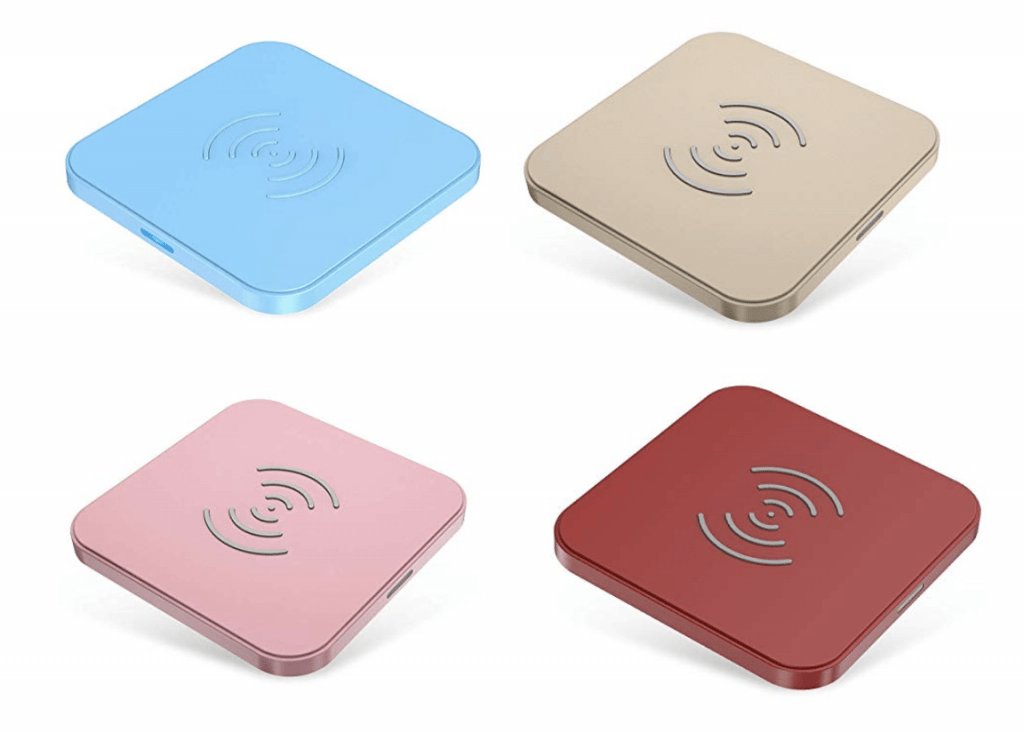 CHOETECH Wireless Charing Pad Color Options
